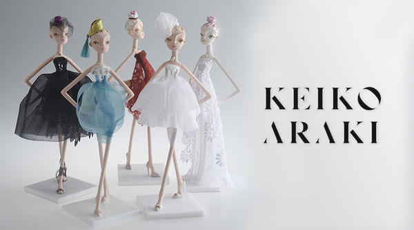 A modern doll that attracts attention from the fashion industry