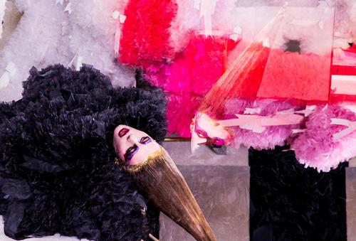 トモコイズミ・感謝の想いをリボンで表現 ニューヨーク・ファッション・ウィークで披露